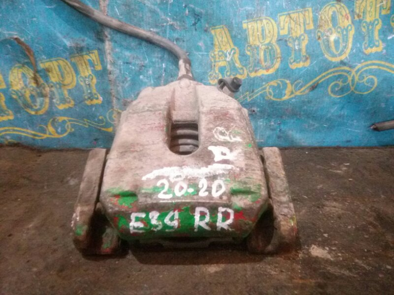 Суппорт Bmw 5 Series E39 M52B25 1998 задний правый