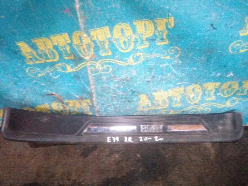 Порожек пластиковый Bmw 5 Series E39 M52B25 1998 задний правый