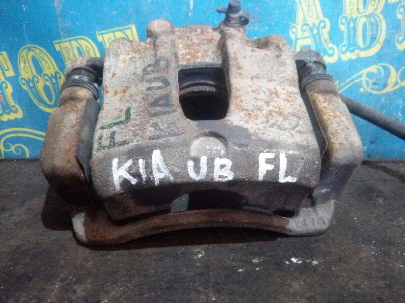 Суппорт Kia Rio UB G4FC 2013 передний левый