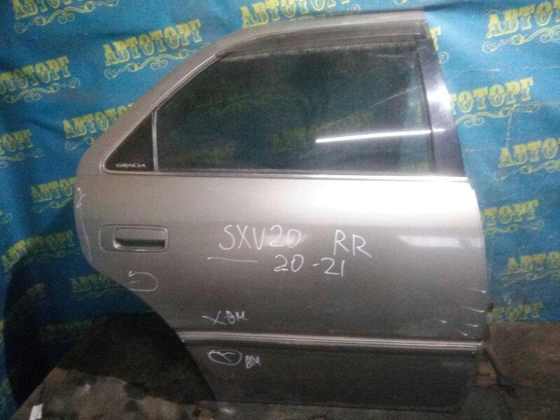 Дверь Toyota Camry Gracia SXV20 5S-FE 1997 задняя правая