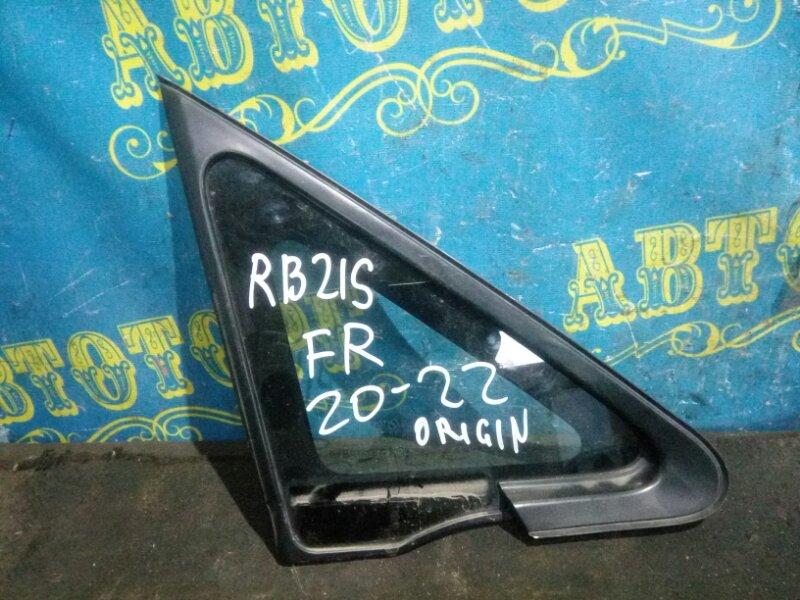 Форточка кузова Suzuki Aerio RB21S M15A 2001 передняя правая