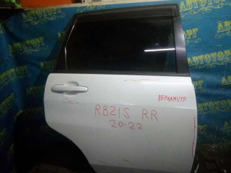 Дверь Suzuki Aerio RB21S M15A 2001 задняя правая