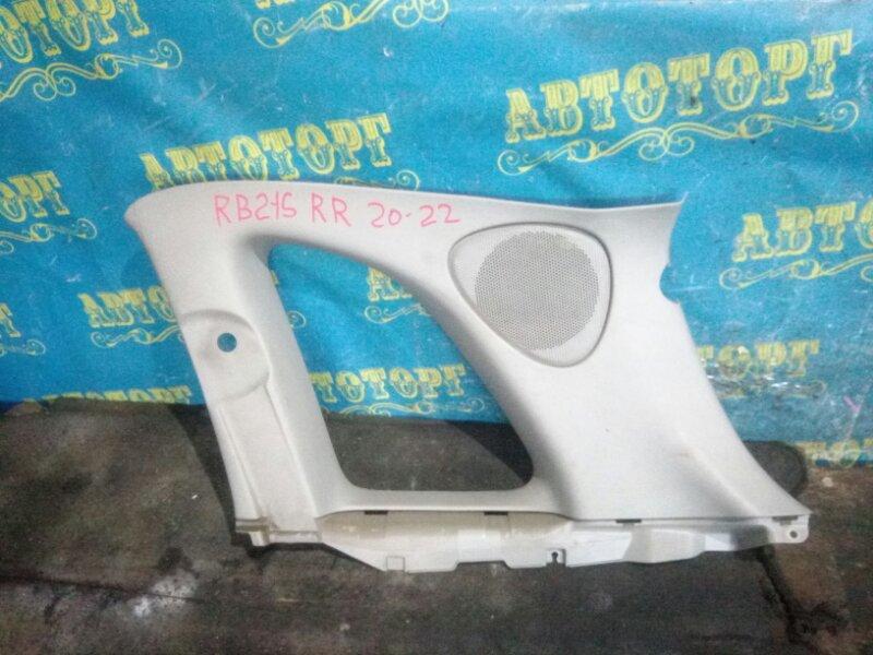 Обшивка багажника Suzuki Aerio RB21S M15A 2001 задняя правая верхняя