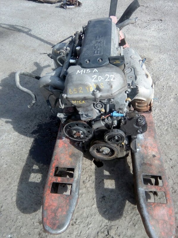 Двигатель Suzuki Aerio RB21S M15A 2001