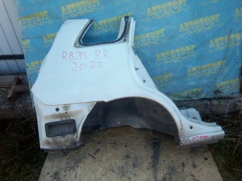 Крыло Suzuki Aerio RB21S M15A 2001 заднее правое