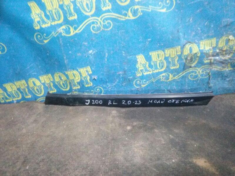 Молдинг стекла Chevrolet Lacetti J200 F16D3 2012 задний левый