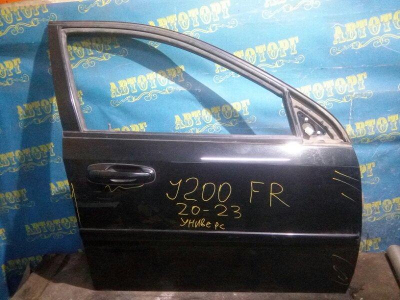 Дверь Chevrolet Lacetti J200 F16D3 2012 передняя правая