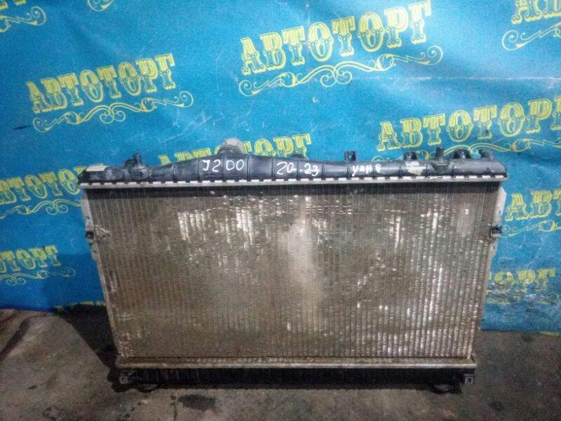 Радиатор основной Chevrolet Lacetti J200 F16D3 2012