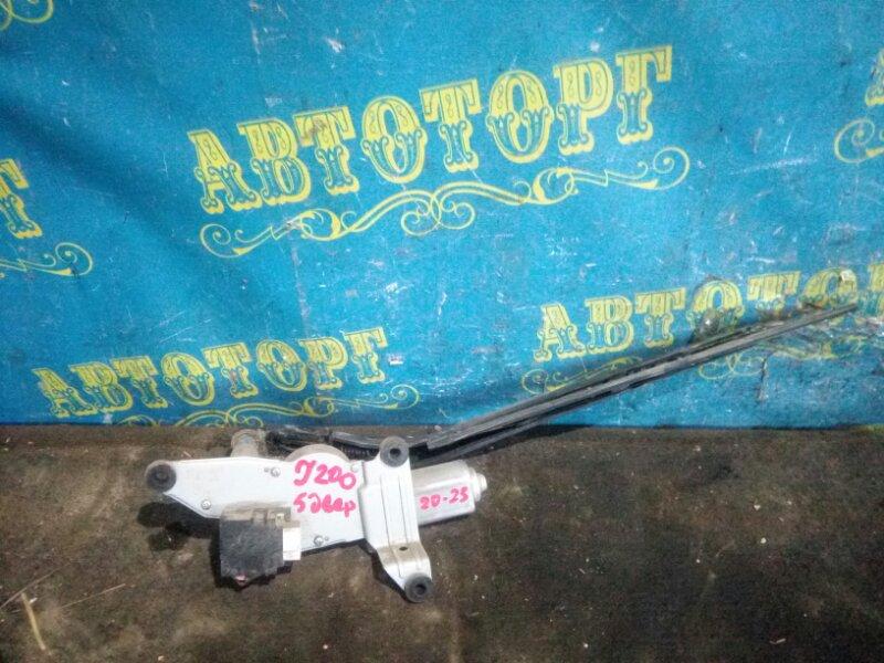 Мотор дворников Chevrolet Lacetti J200 F16D3 2012 задний