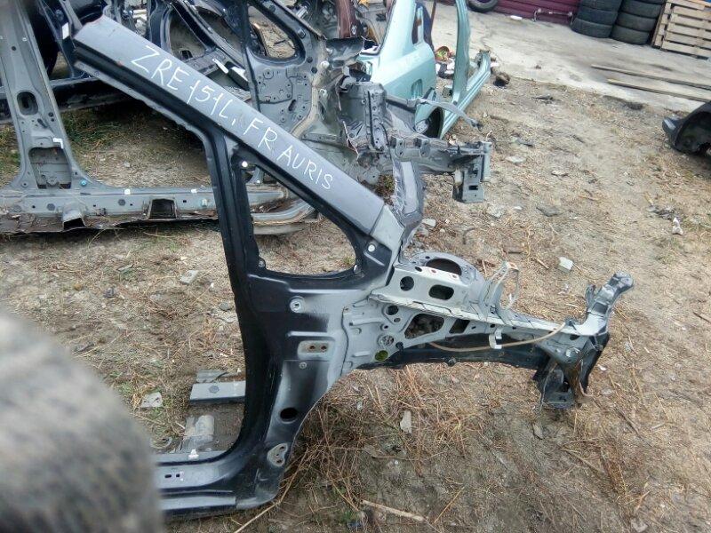 Лонжерон Toyota Auris ZRE151L 1ZR 2008 передний правый