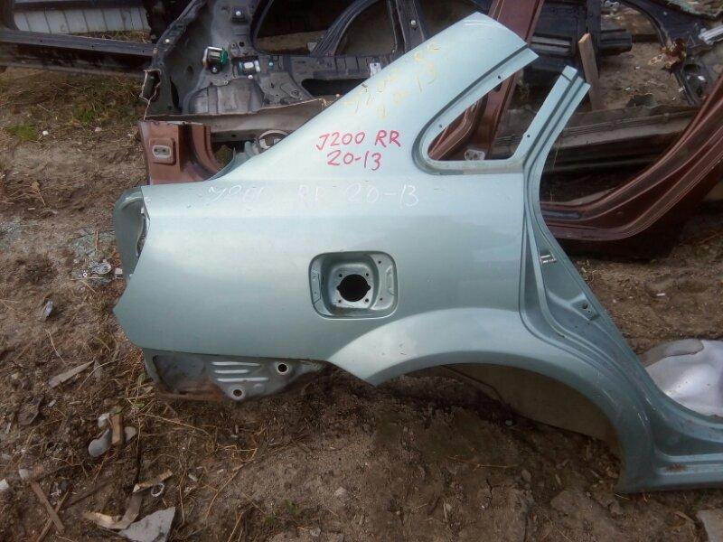 Крыло Chevrolet Lacetti J200 F14D3 2004 заднее правое