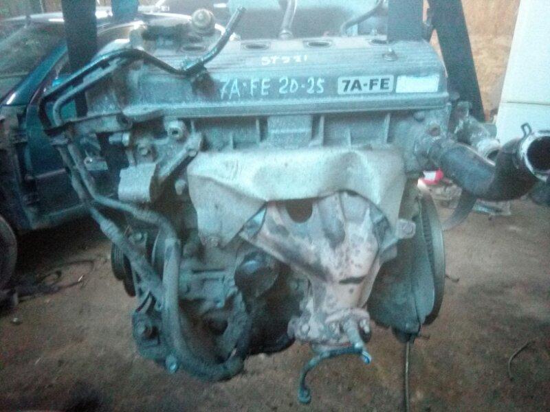 Двигатель Toyota Avensis AT220 AT221 7A FE 1998
