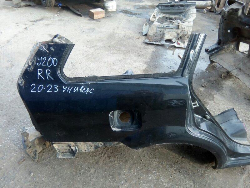 Крыло Chevrolet Lacetti J200 F16D3 2012 заднее правое