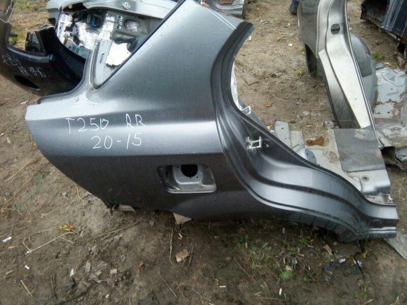 Крыло Chevrolet Aveo T250 F14D4 2008 заднее правое