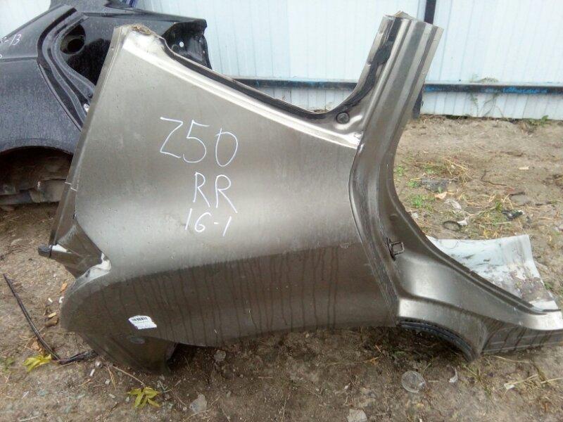 Крыло Nissan Murano Z50 VQ35-DE 2002 заднее правое