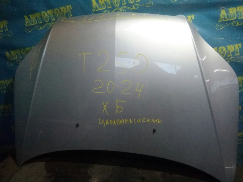 Капот Chevrolet Aveo T250 B12D1 2009