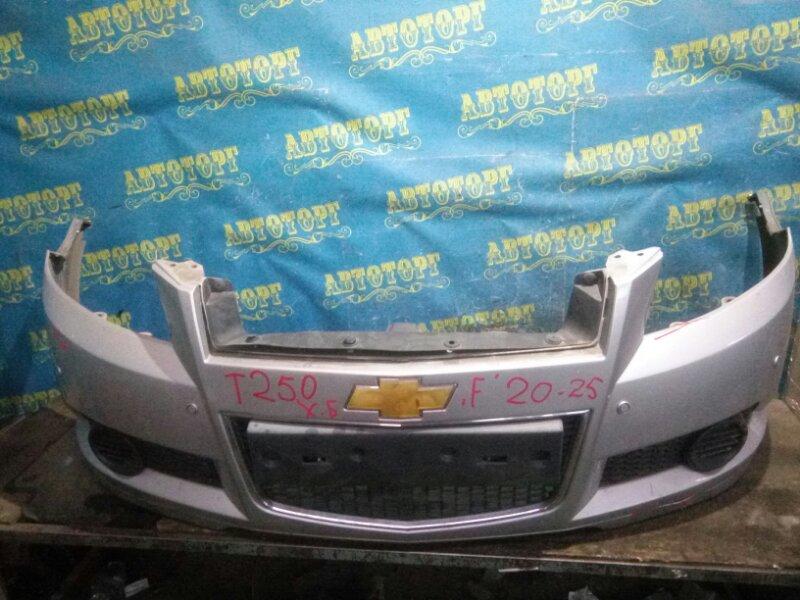 Бампер Chevrolet Aveo T250 B12D1 2009 передний