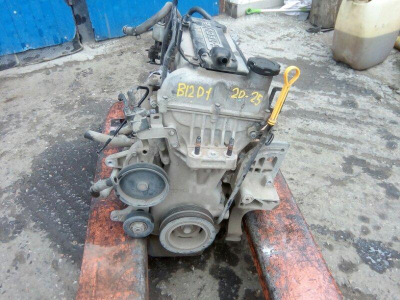Двигатель Chevrolet Aveo T250 B12D1 2009