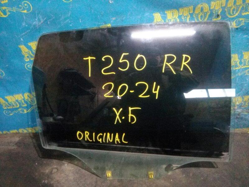 Стекло двери Chevrolet Aveo T250 B12D1 2009 заднее правое