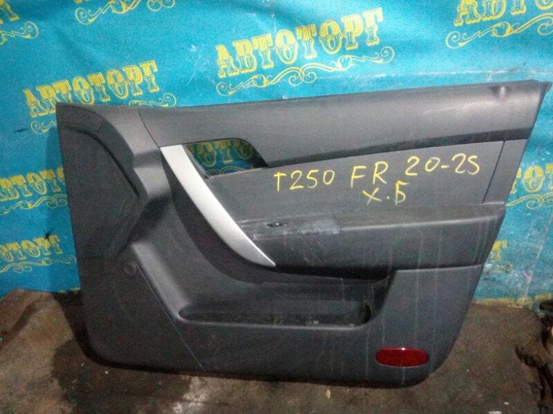 Обшивка дверей Chevrolet Aveo T250 B12D1 2009 передняя правая