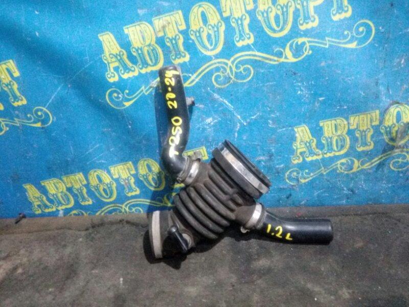 Гофра воздушного фильтра Chevrolet Aveo T250 B12D1 2009
