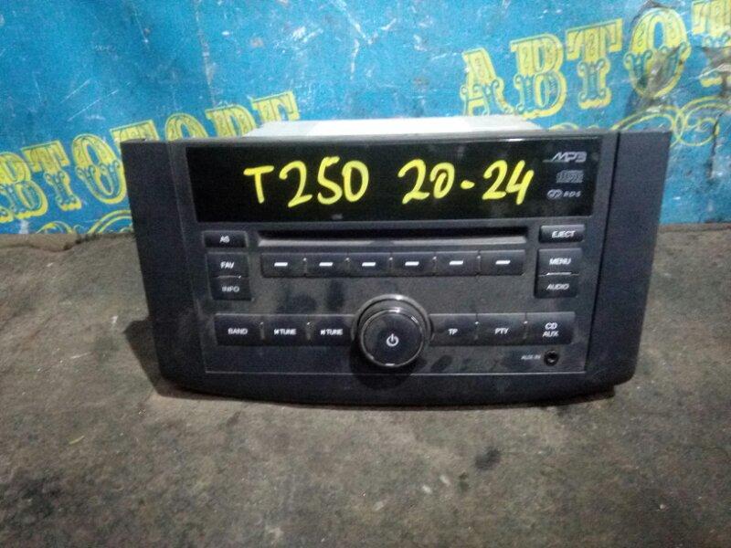 Магнитофон Chevrolet Aveo T250 B12D1 2009