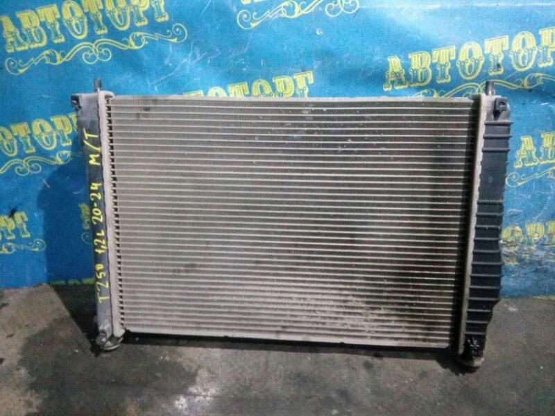 Радиатор основной Chevrolet Aveo T250 B12D1 2009