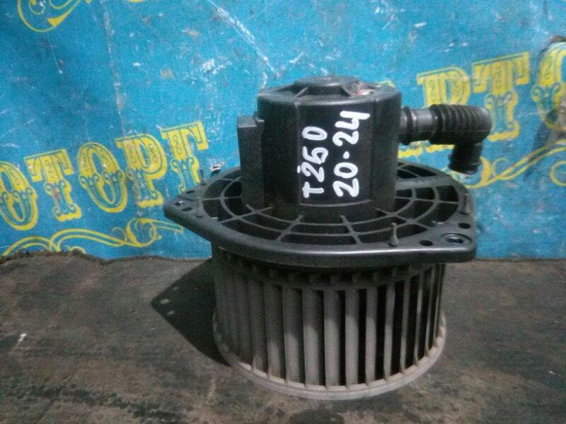 Мотор печки Chevrolet Aveo T250 B12D1 2009 передний
