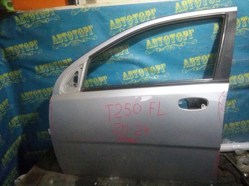 Дверь Chevrolet Aveo T250 B12D1 2009 передняя левая