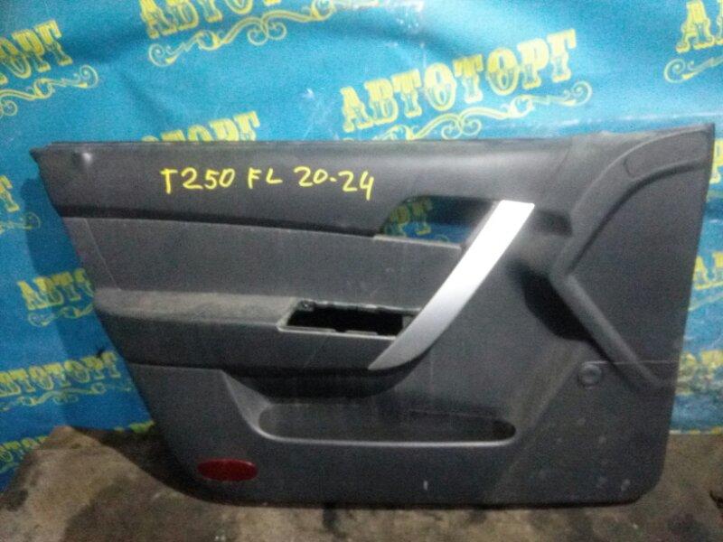 Обшивка дверей Chevrolet Aveo T250 B12D1 2009 передняя левая