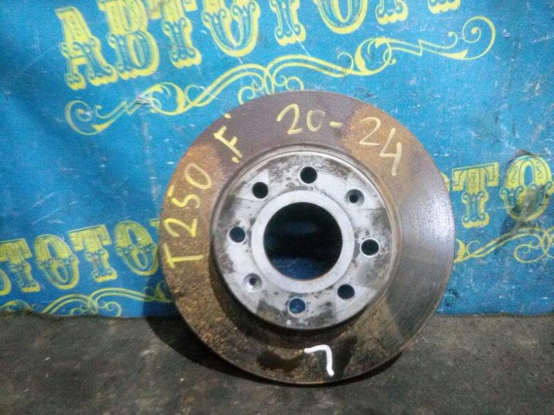 Тормозной диск Chevrolet Aveo T250 B12D1 2009 передний