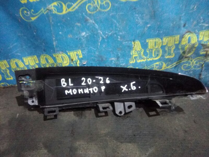 Монитор Mazda 3 BL Z6 2009