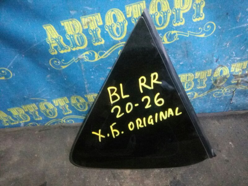 Стекло багажника Mazda 3 BL Z6 2009 заднее правое