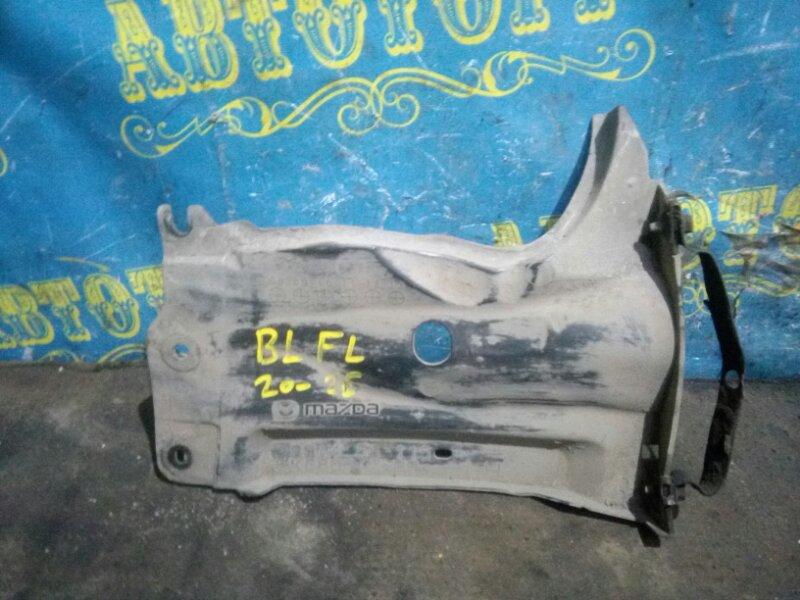 Защита двигателя Mazda 3 BL Z6 2009 передняя левая