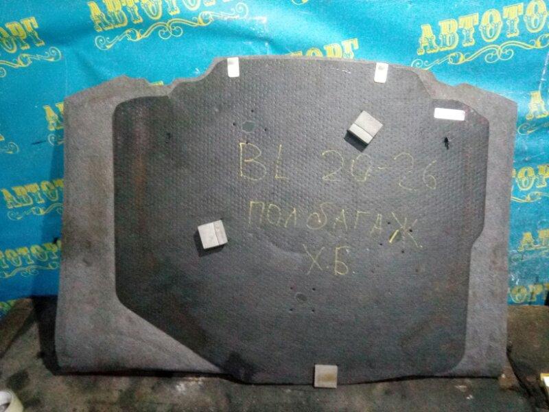 Пол багажника пластик Mazda 3 BL Z6 2009