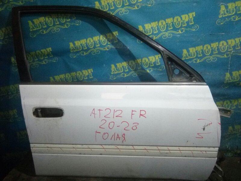 Дверь Toyota Carina AT212 5AFE 1998 передняя правая
