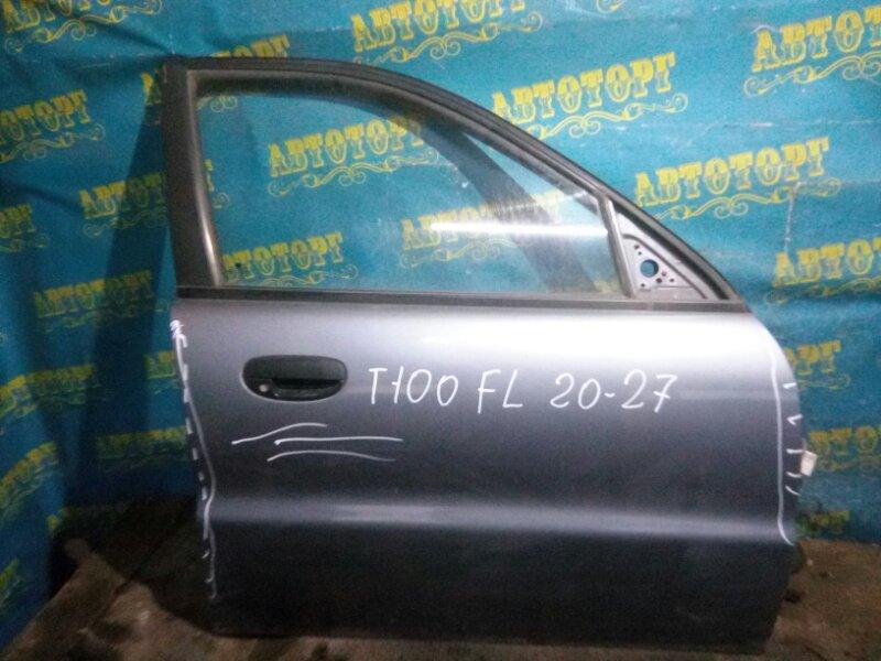Дверь Chevrolet Lanos T100 A15SMS 2006 передняя правая
