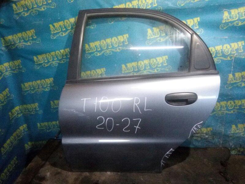 Дверь Chevrolet Lanos T100 A15SMS 2006 задняя левая