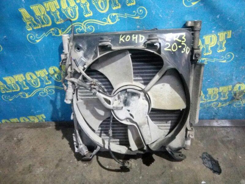 Радиатор кондиционера Honda Civic EK3 D15B 1998