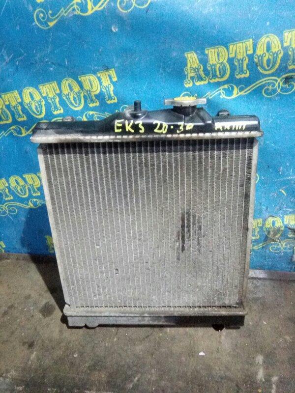 Радиатор основной Honda Civic EK3 D15B 1998
