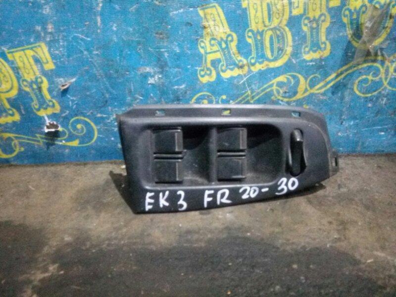 Блок упр. стеклоподьемниками Honda Civic EK3 D15B 1998 передний правый
