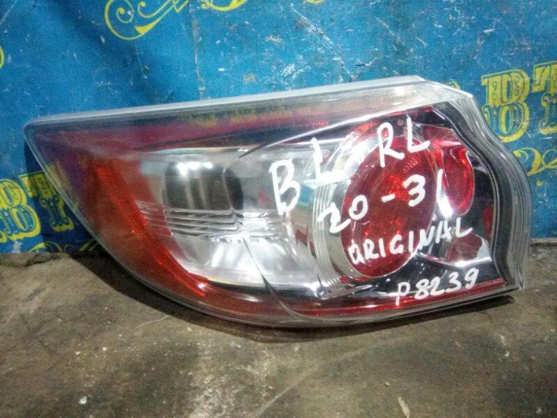 Стоп сигнал Mazda 3 BL Z6 2012 задний левый