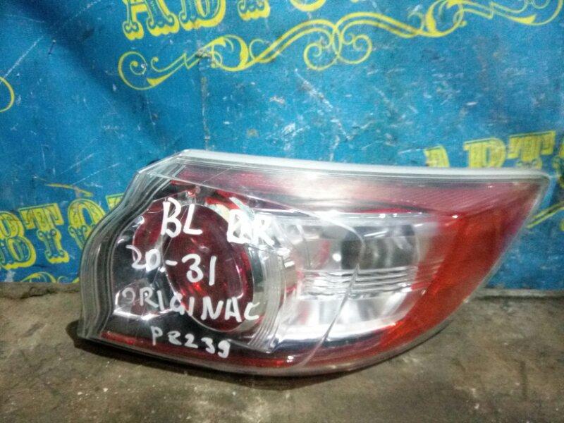 Стоп сигнал Mazda 3 BL Z6 2012 задний правый