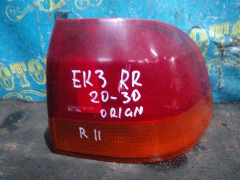 Стоп сигнал Honda Civic EK3 D15B 1998 задний правый