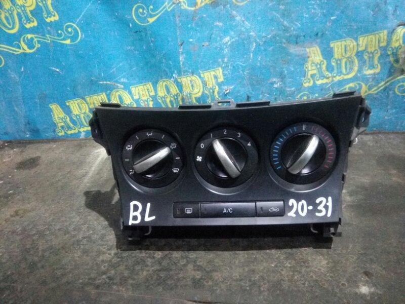 Блок управления климат-контролем Mazda 3 BL Z6 2012