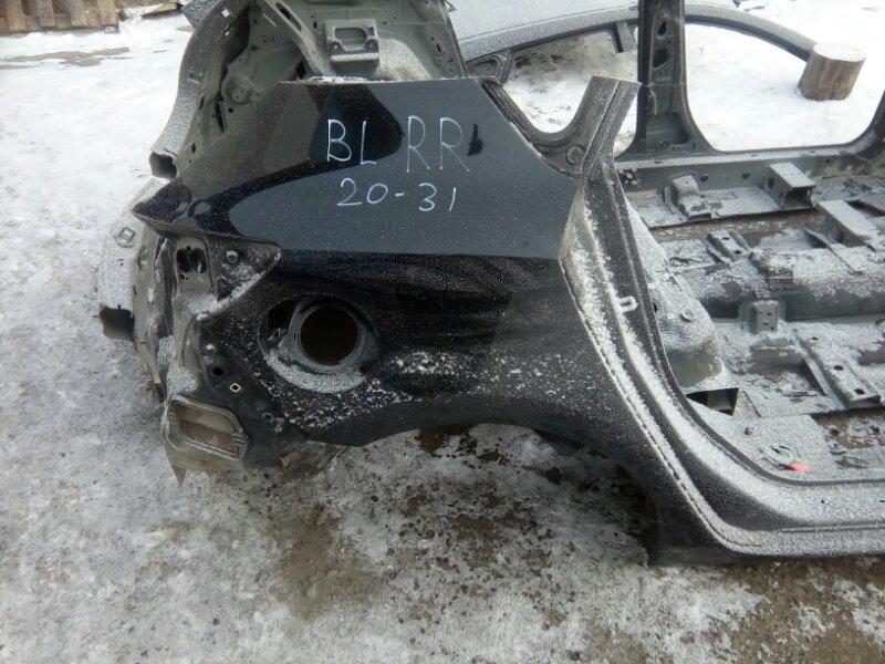 Крыло Mazda 3 BL Z6 2012 заднее правое