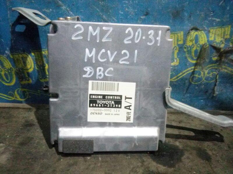 Блок управления двс Toyota Windom MCV21 2MZ 2001