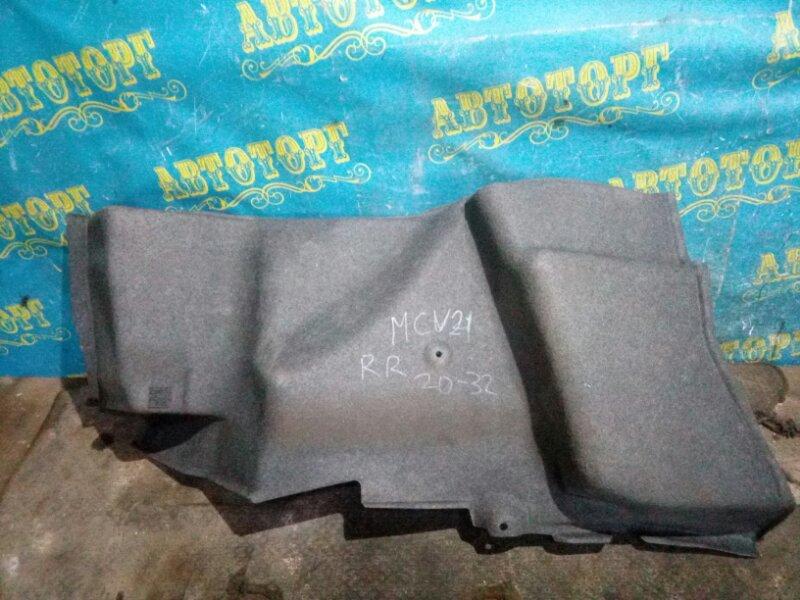 Обшивка багажника Toyota Windom MCV21 2MZ 2001 задняя правая
