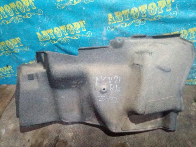 Обшивка багажника Toyota Windom MCV21 2MZ 2001 задняя левая