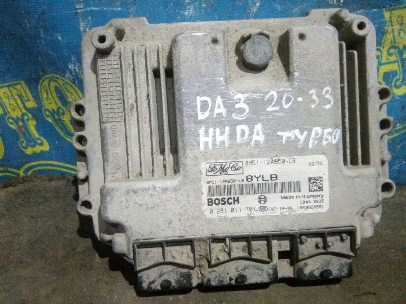 Блок управления двс Ford Focus 2 CB4 DA3 HHDA 2007